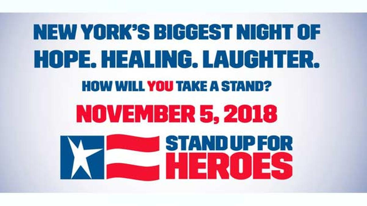 Stand Up for Heroes: Get Your Tickets Starting September 13th!