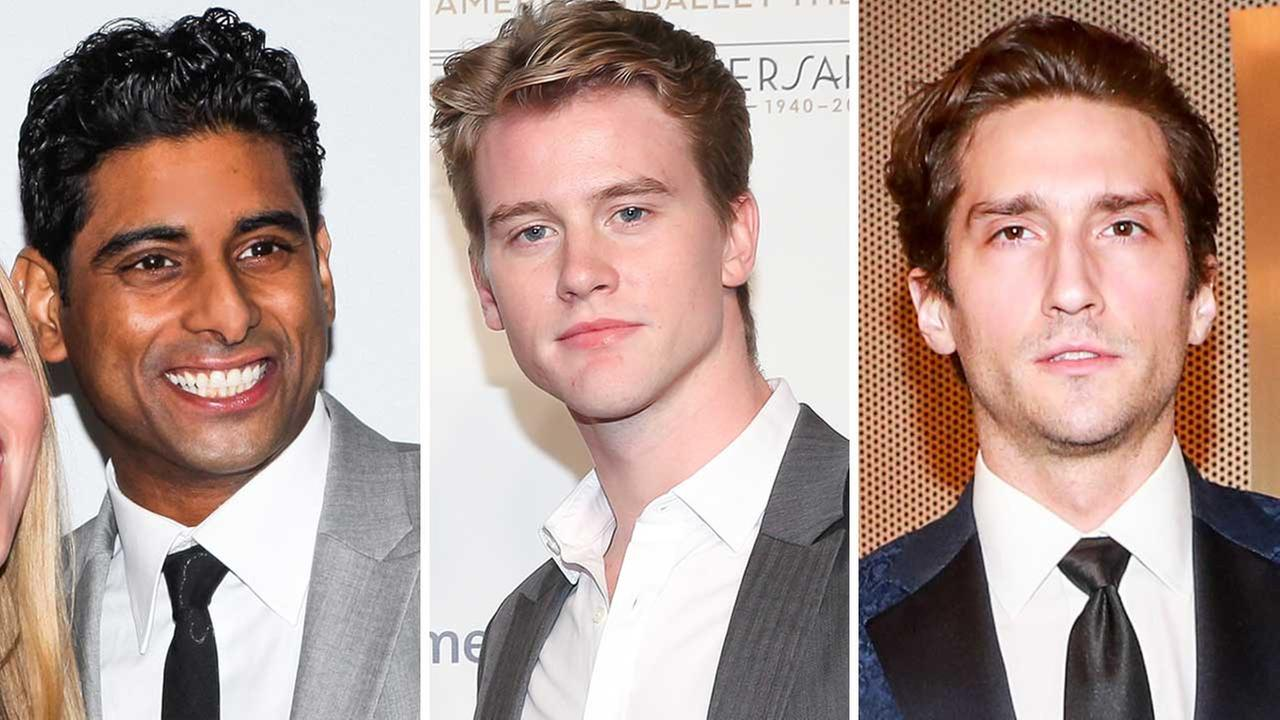 From left to right: Amar Ramasar, Chase Finlay, Zachary Catazaro