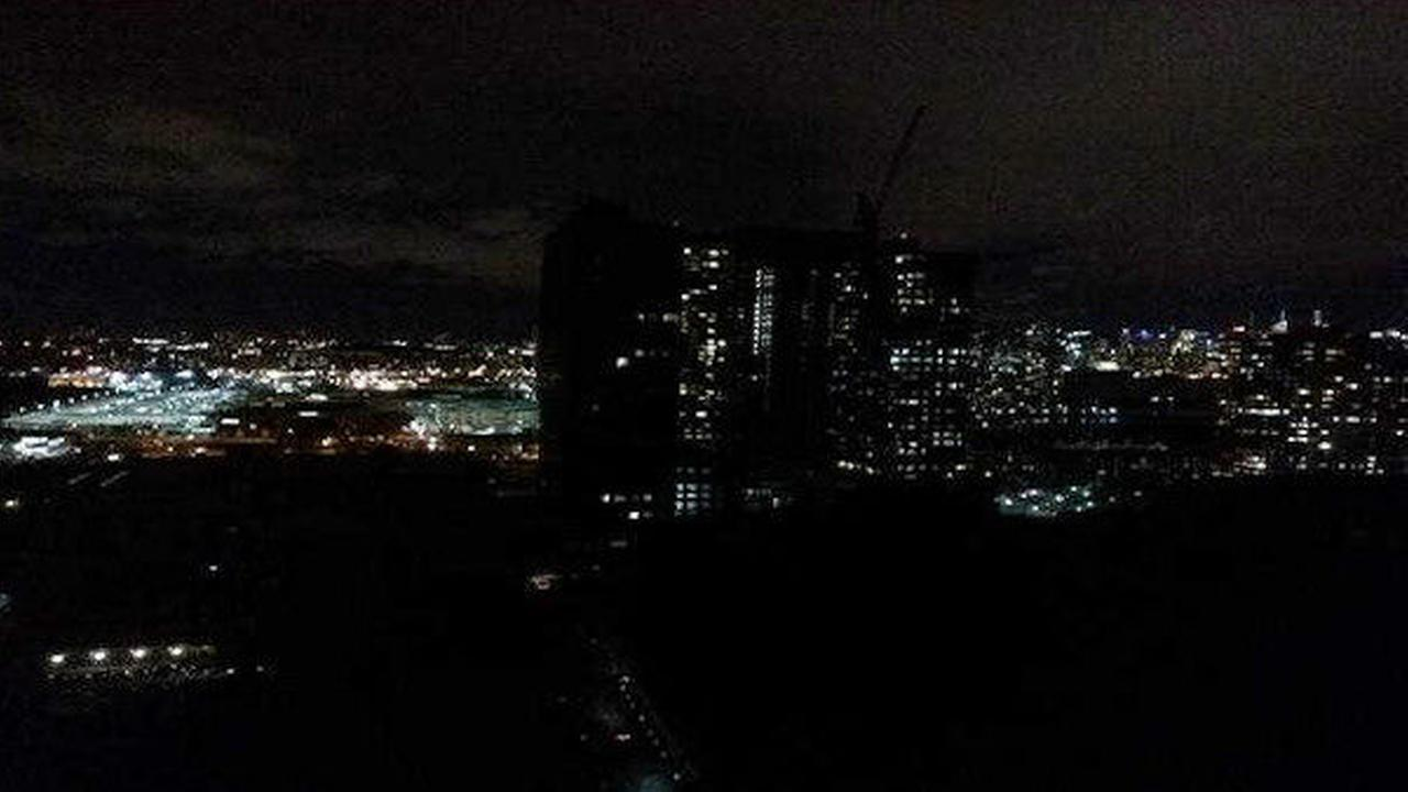 PHOTOS: Jersey City power outage leaves 11,000 customers in the dark