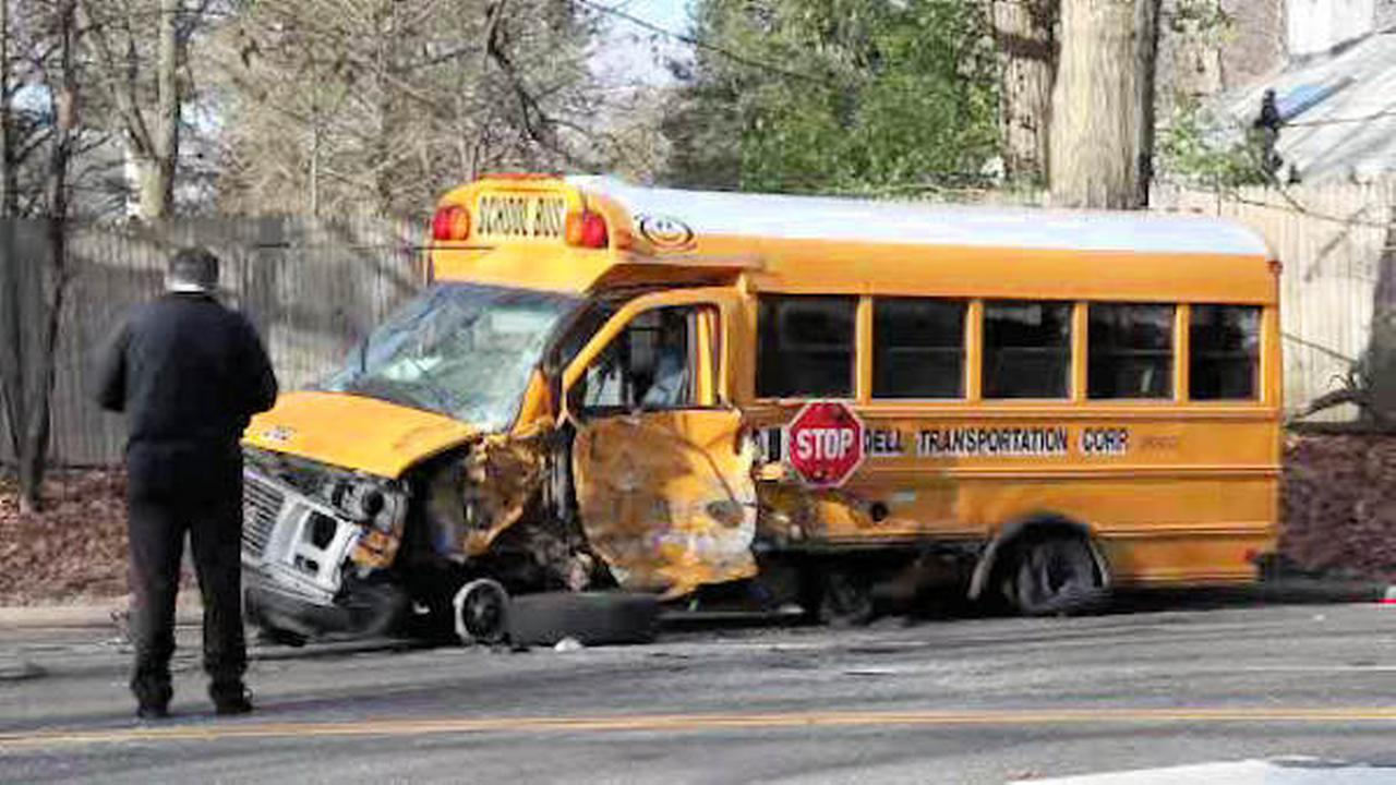 east hills school bus crash