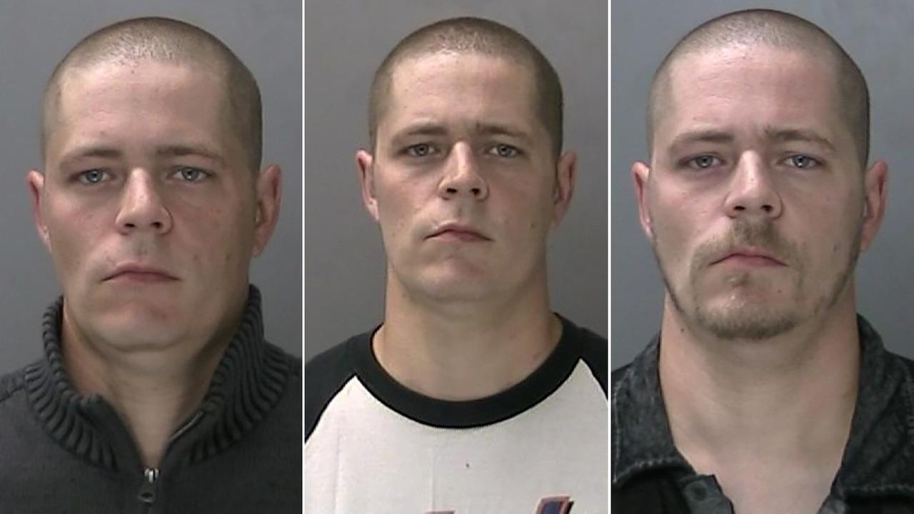 Matthew Wideners three mugshots, related to six cases of alleged sex abuse