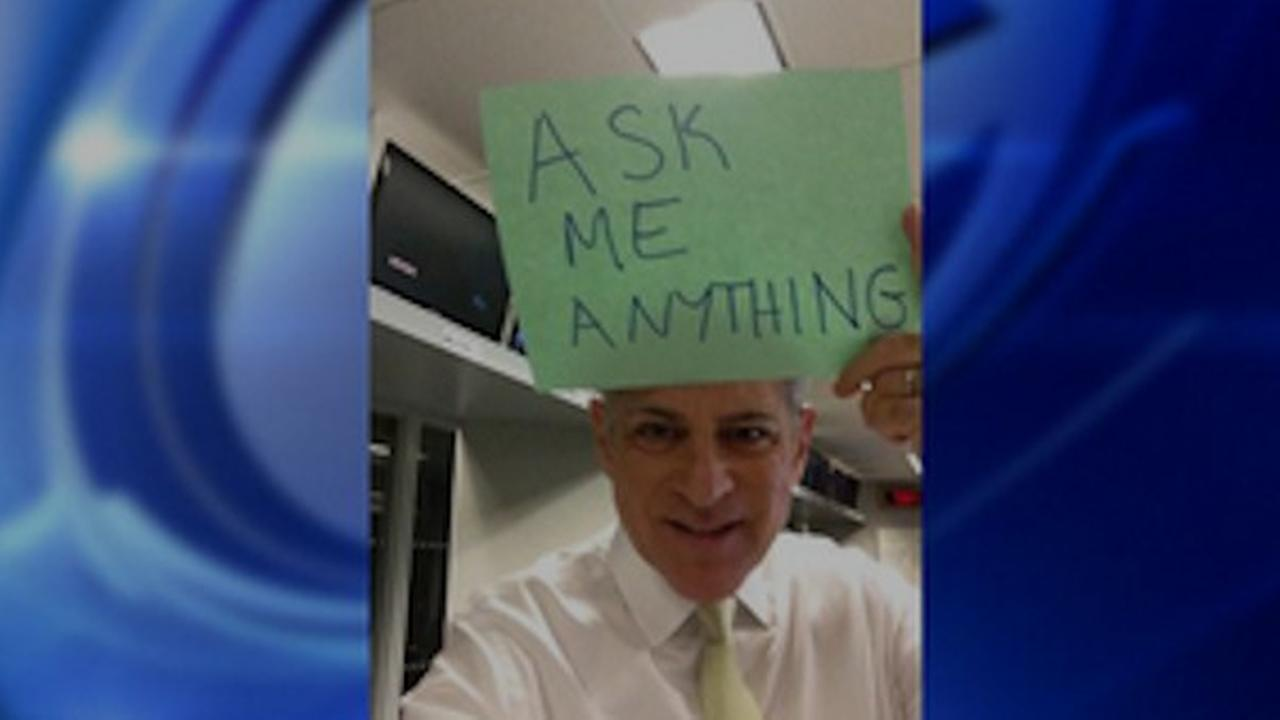 Bill Ritter's 'Ask Me Anything' on Reddit