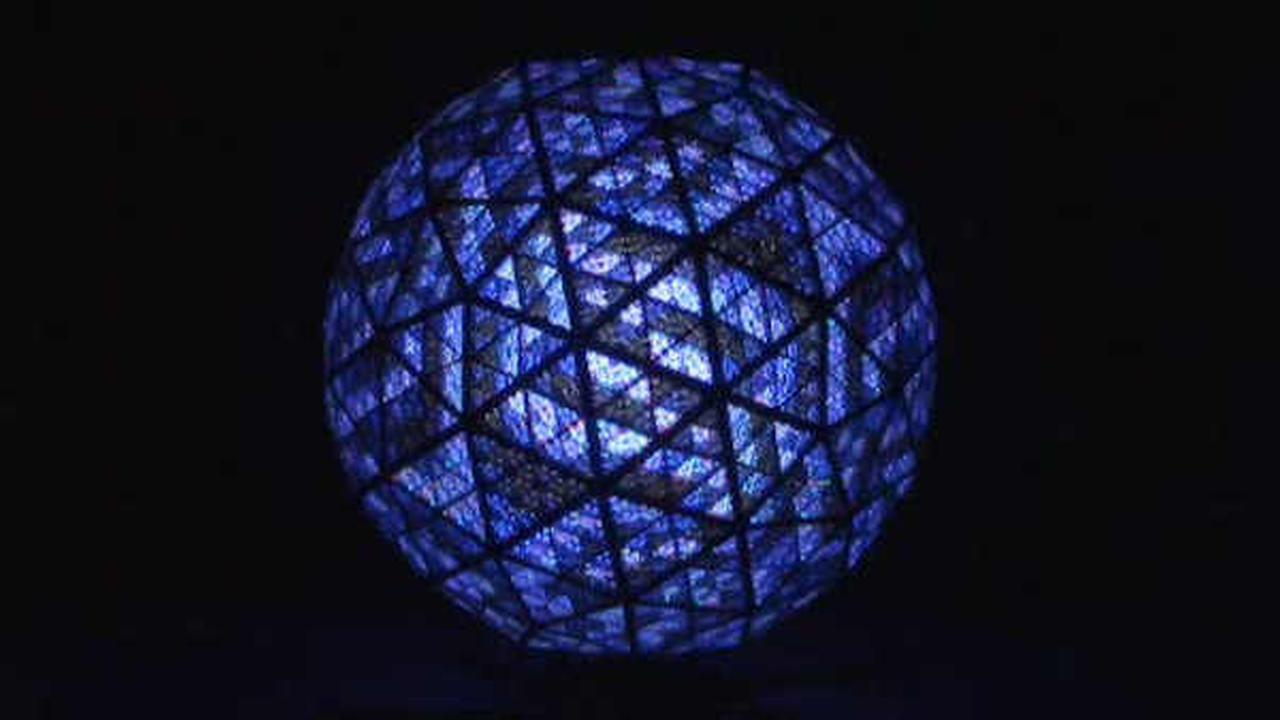 This year's ball unveiled for New Year's Eve celebration in Times Square
