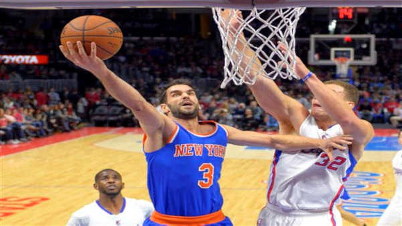 Knicks drop 9th straight with loss to Clippers