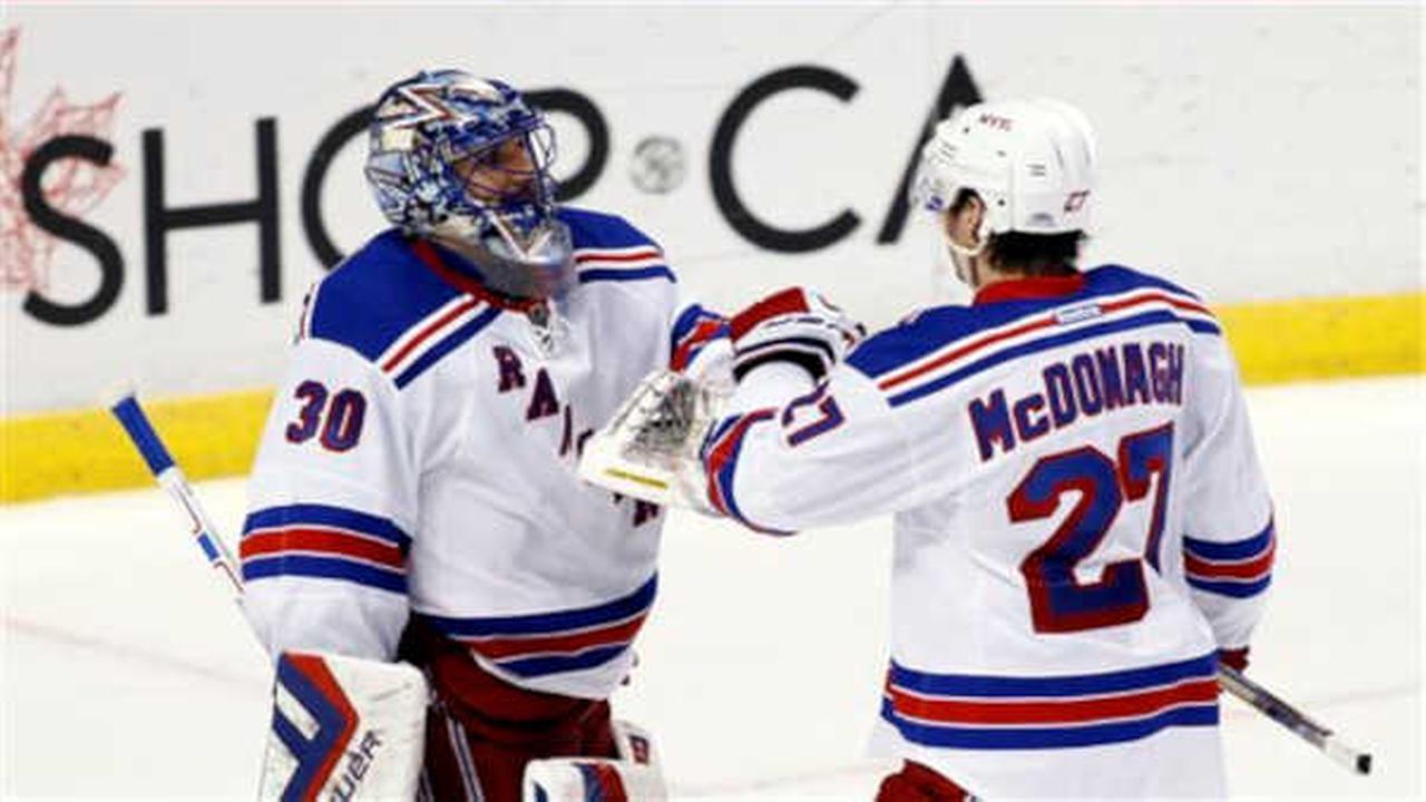 Rangers get back to winning ways, beat Panthers 5-2