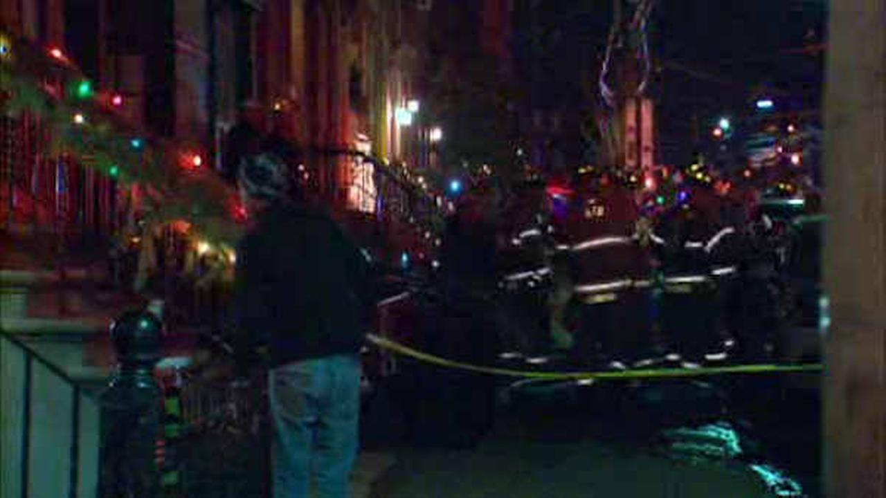 8 families displaced by fire at apartment building in Hoboken