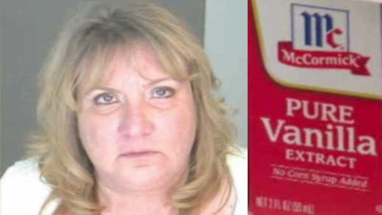 Police: Woman arrested after drunk on vanilla extract behind wheel
