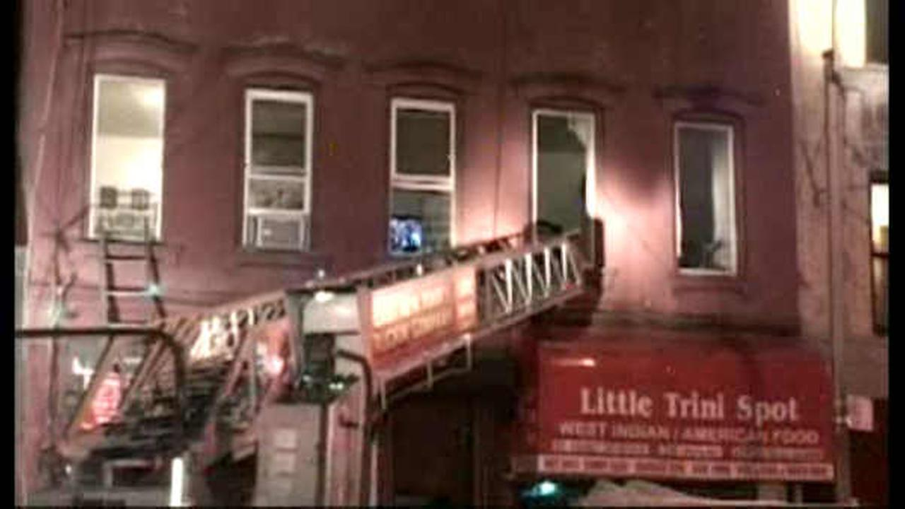 9 injured, including 3 children, in Brooklyn apartment fire
