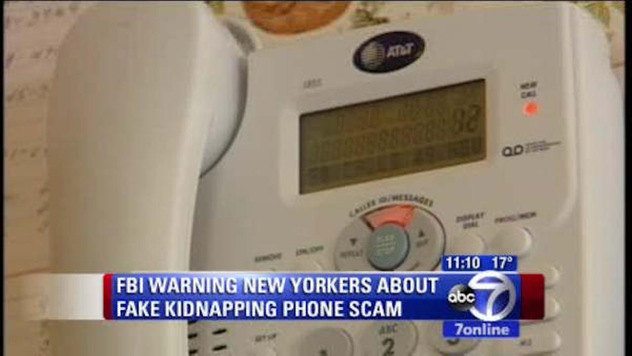 Warning of scam claiming family members have been kidnapped