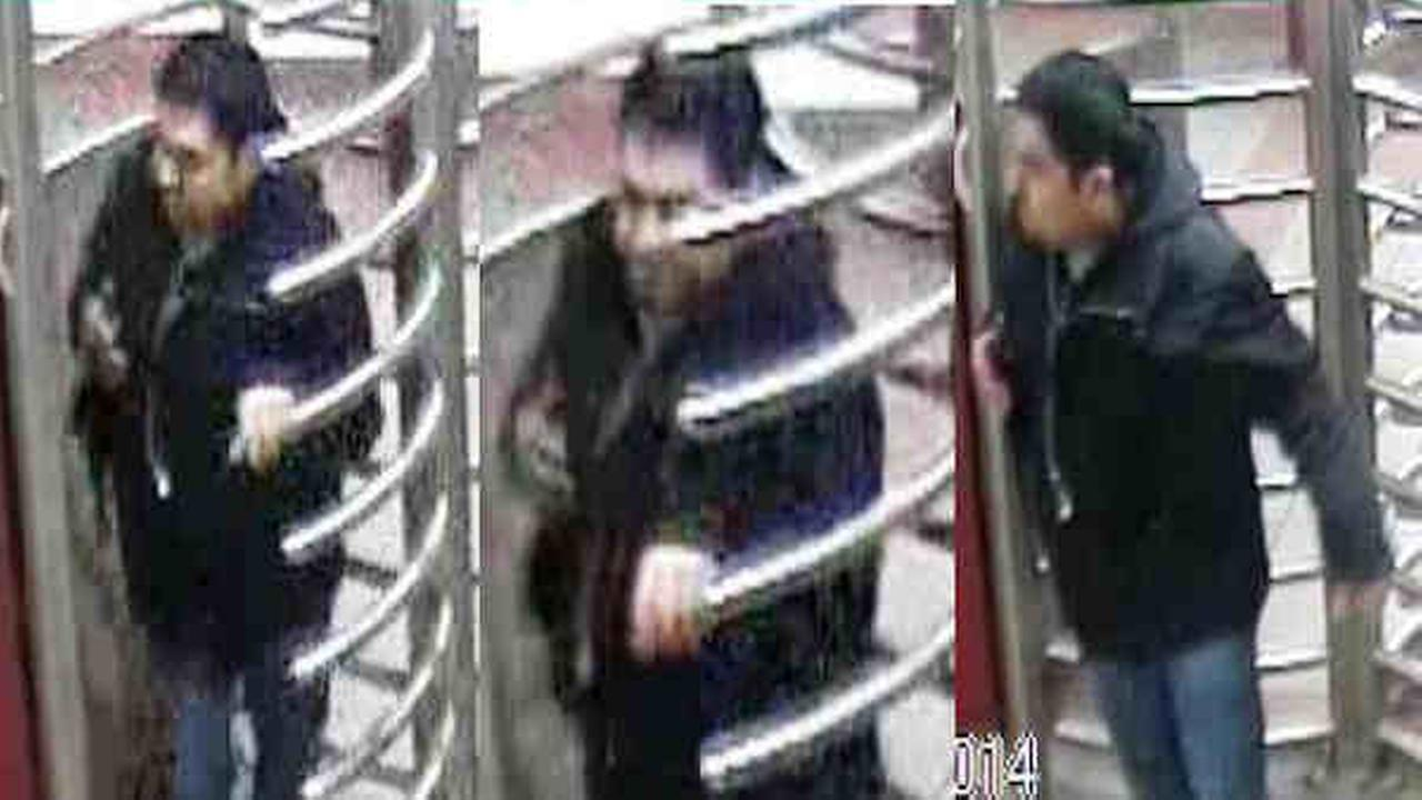 Subway conductor hit by man on Q train