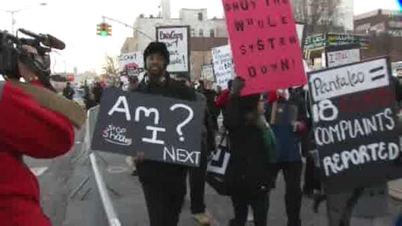 Legal aid attorneys organize protest of Eric Garner decision on Staten Island