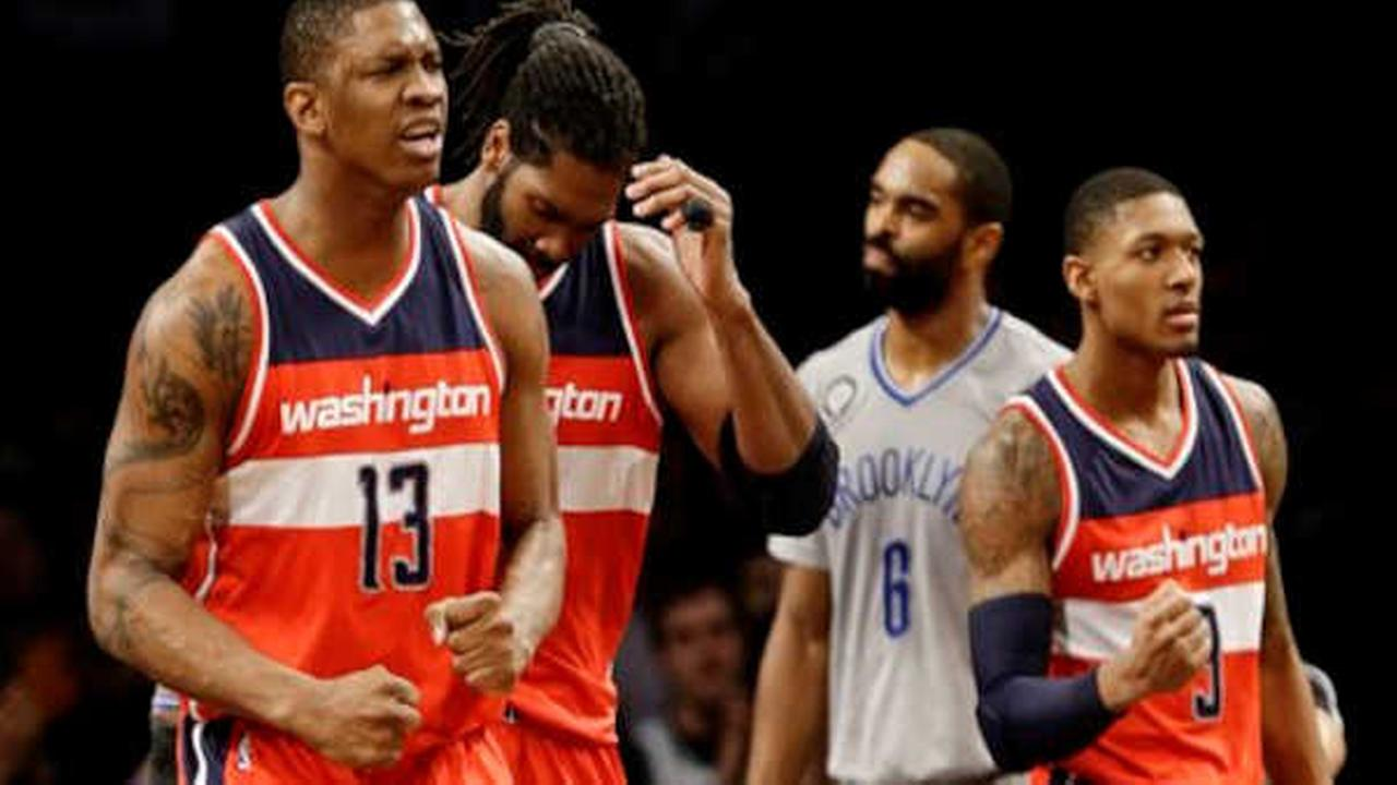 Nets split home-and-home series with Wizards with 99-90 loss