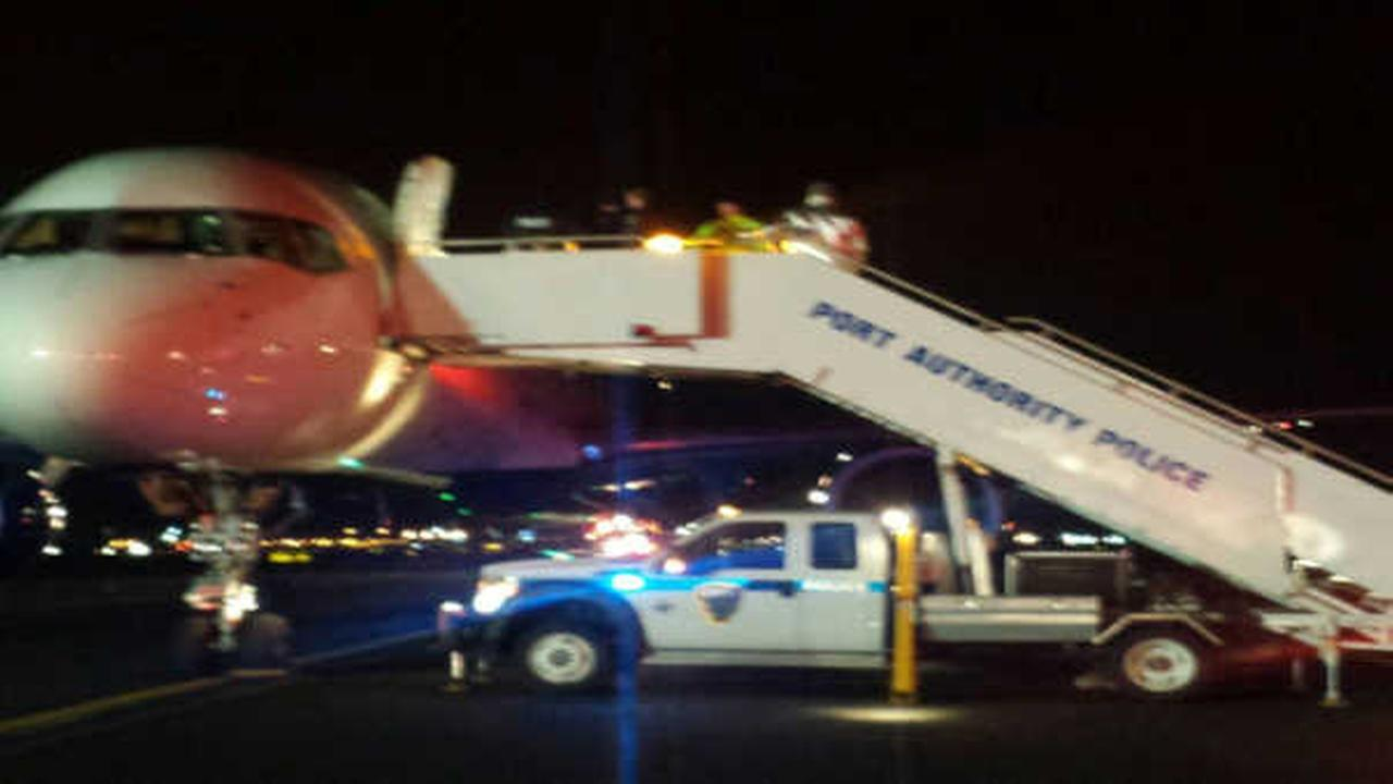 Plane searched at JFK airport after false bomb threat