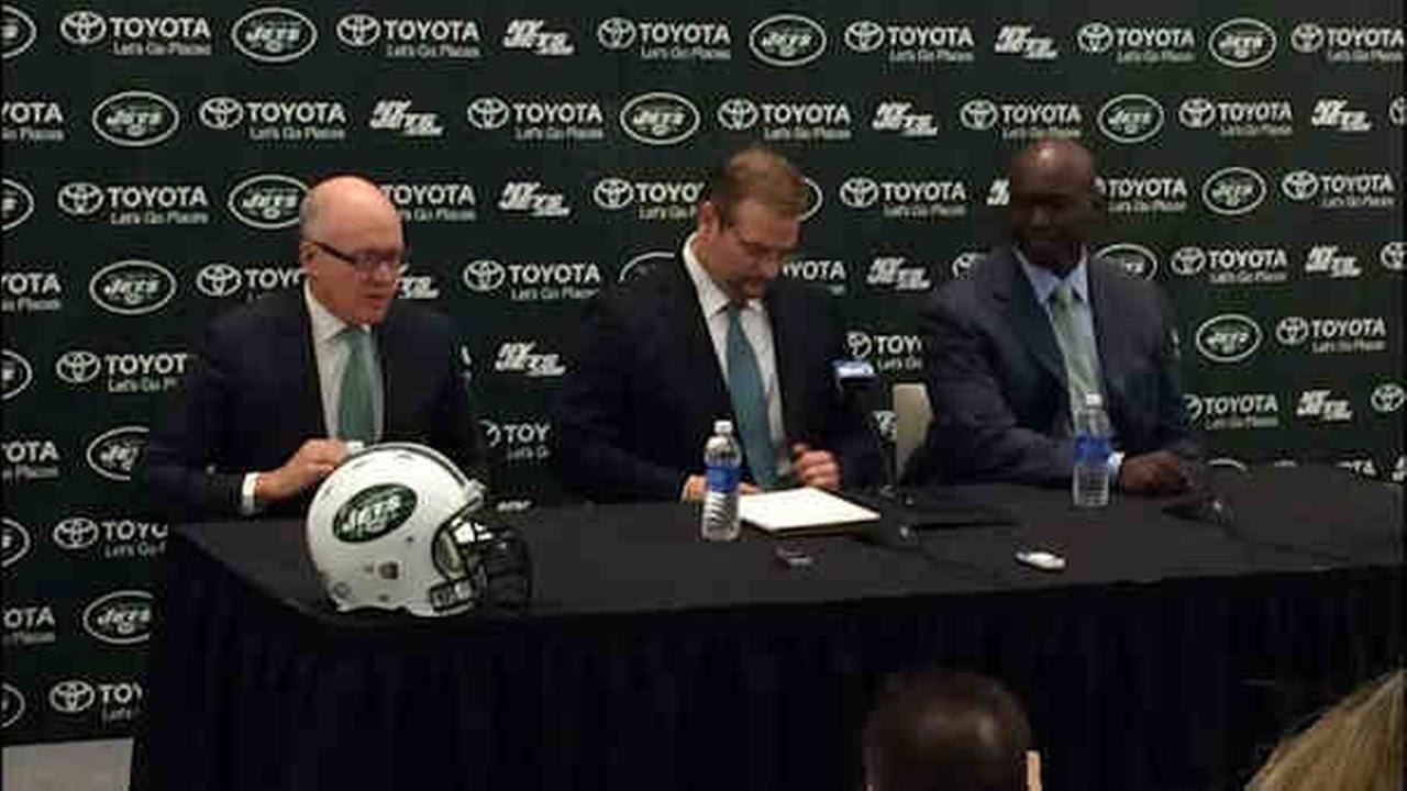 New York Jets introduce their new coach and general manager