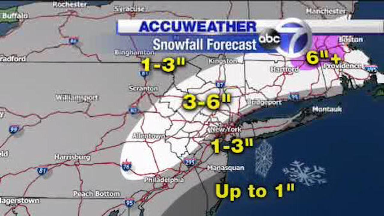 ACCUWEATHER MAPS: Winter storm hits New York area | abc7ny.com