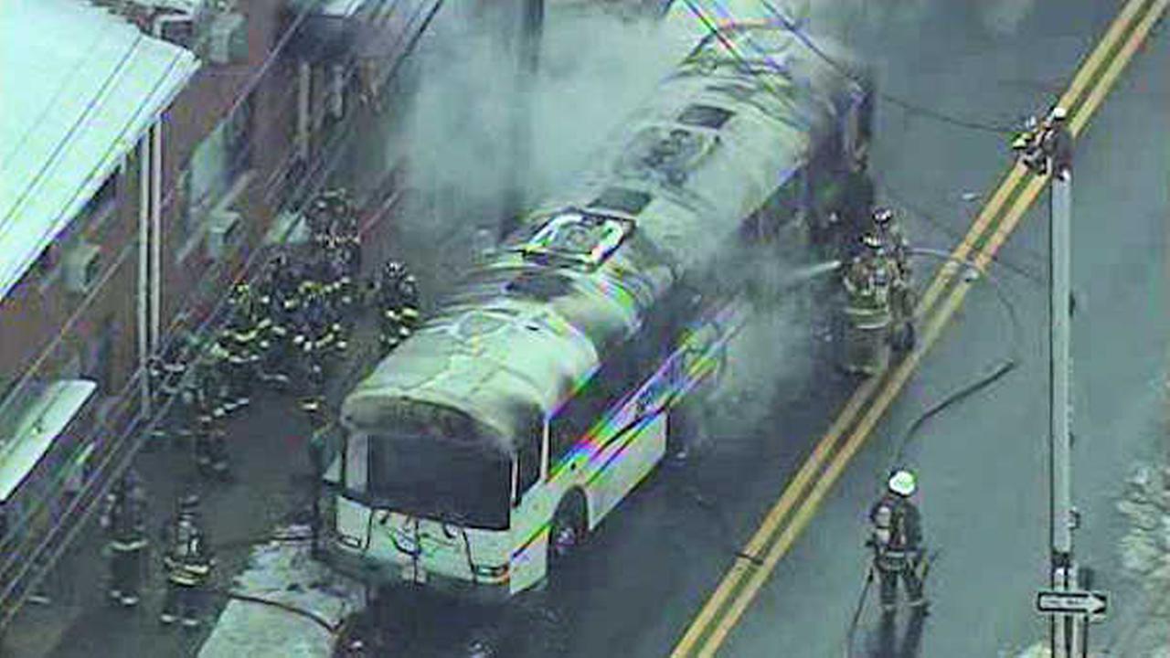 fairview bus fire