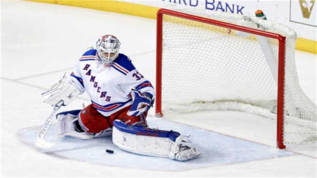 Lundqvist-less Rangers lose 3-2 to Predators