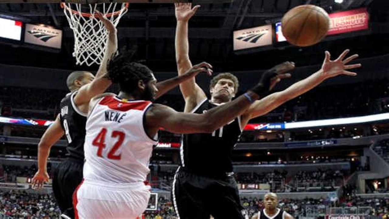 Nets fall 114-77 against Washington Wizards