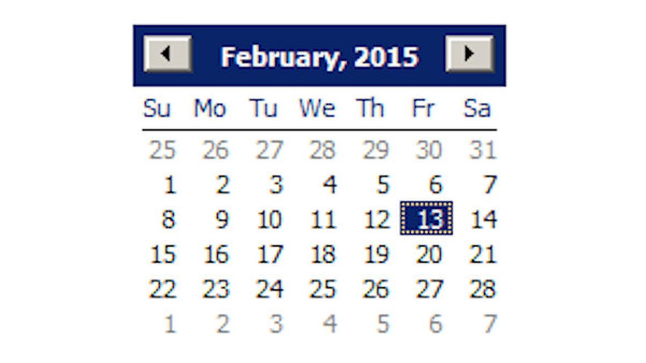 A superstitious year: 2015 has 3 Friday the 13ths