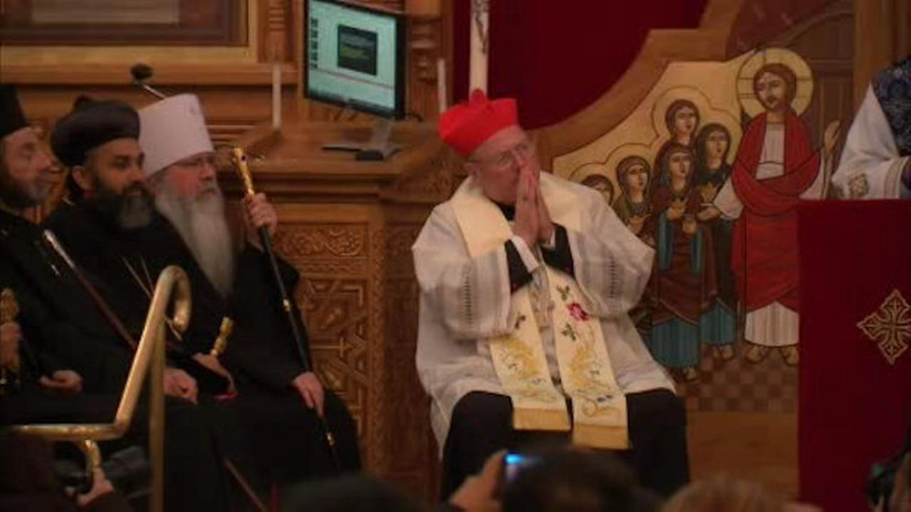 Cardinal Dolan honors Egyptian Coptic Christians killed by ISIS