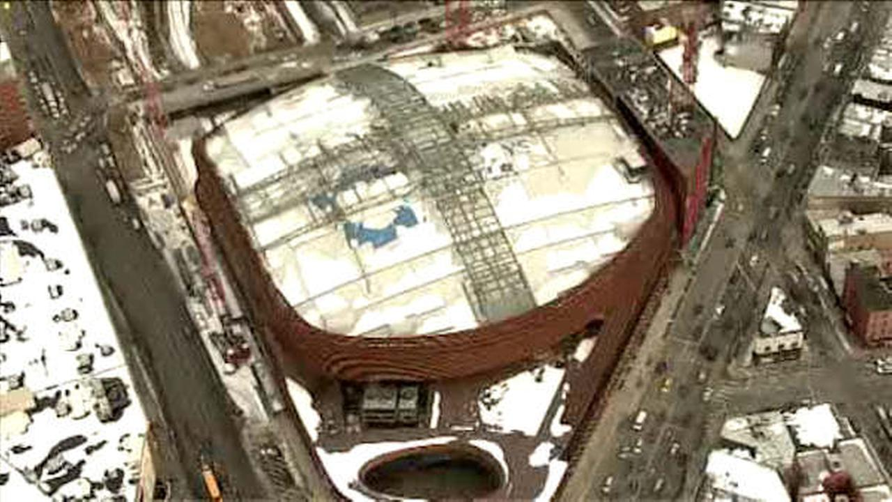 Construction worker killed in accident at Barclays Center