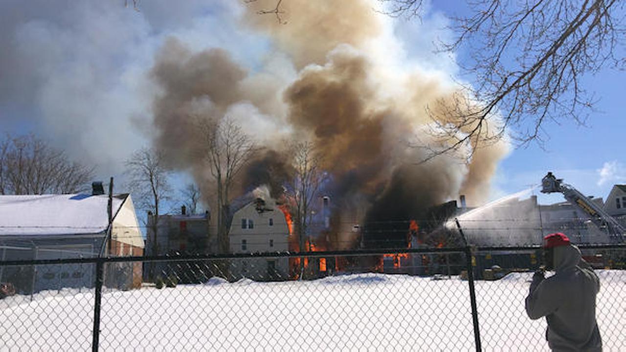 Massive Bridgeport fire guts three homes