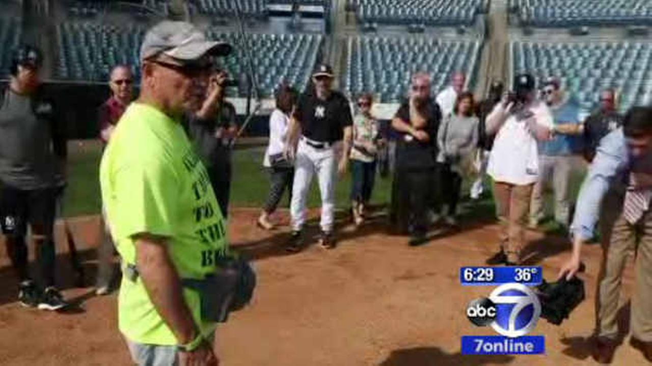 Man to walk from Tampa to Yankee Stadium for Wounded Warrior Project