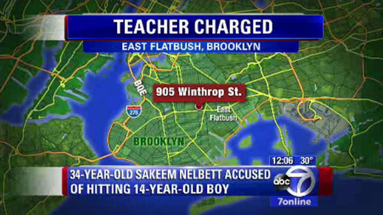 brooklyn teacher accused of hitting student