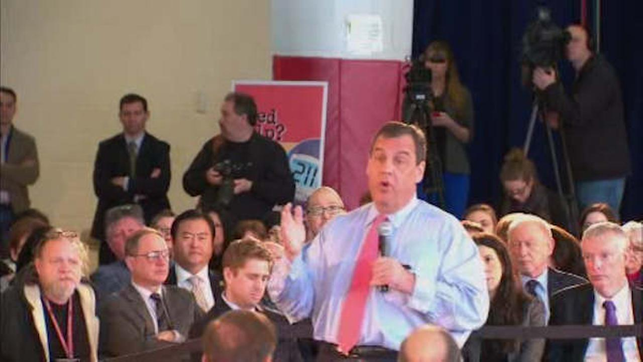 New Jersey Gov. Chris Christie holding town hall in Fair Lawn