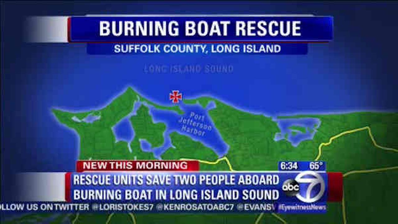 long island sound boat rescue