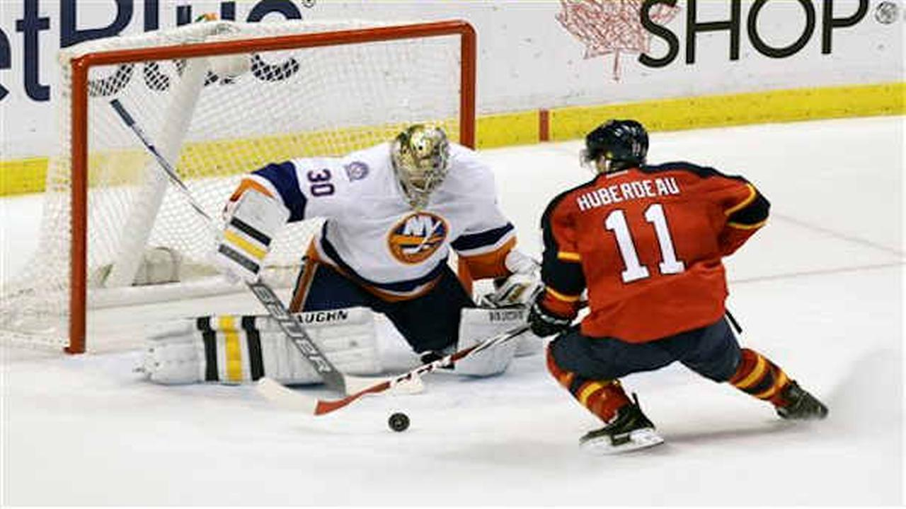 Islanders lose 4-3 to Panthers in shootout