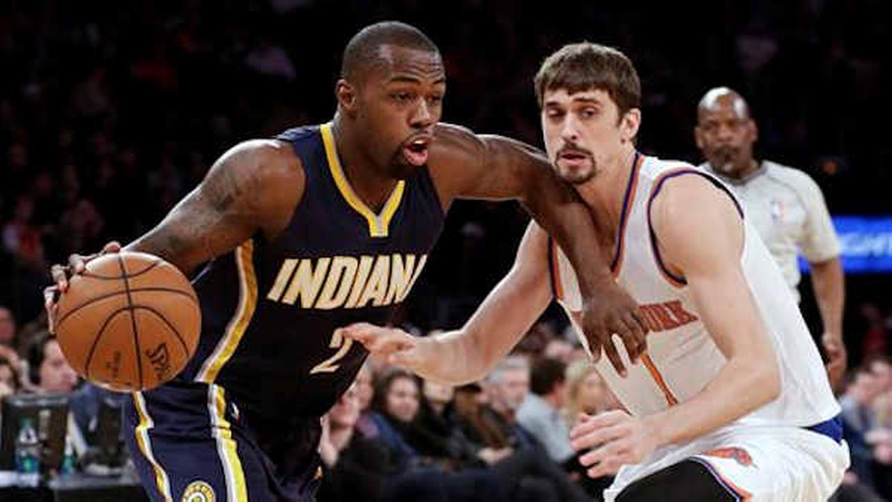Pacers win fifth in a row, beat Knicks 92-86