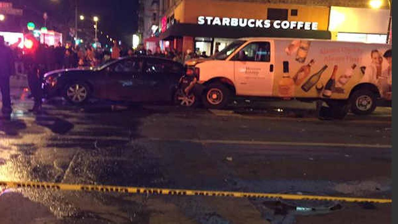 11 hurt, recovering after in multi-vehicle accident in Harlem