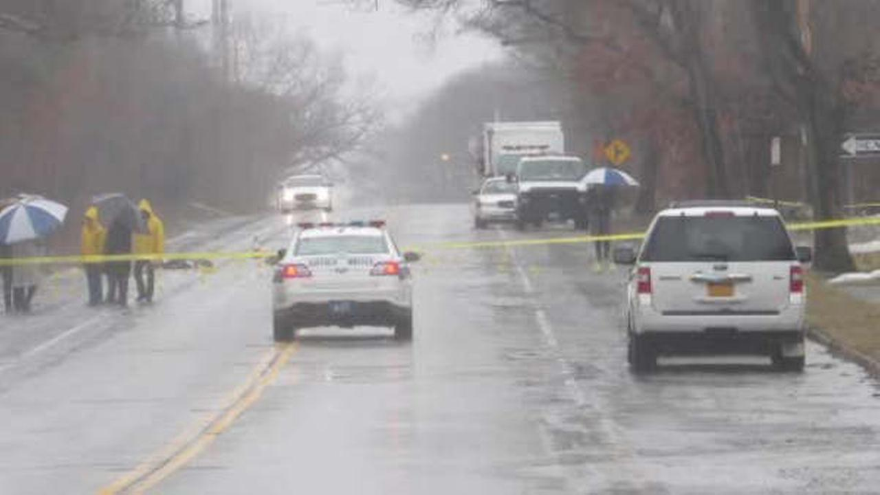 Police hunt hit and run driver after pedestrian killed in Coram, LI
