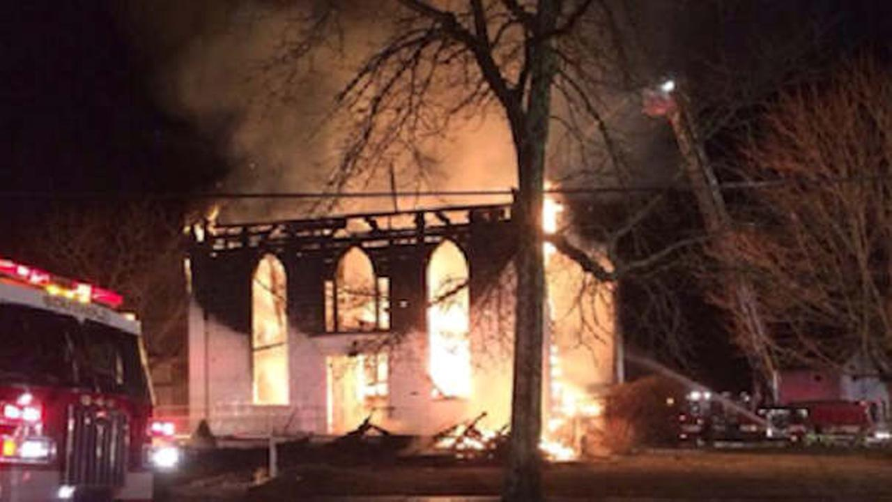 Historic church in Southold, Long Island destroyed by early morning fire