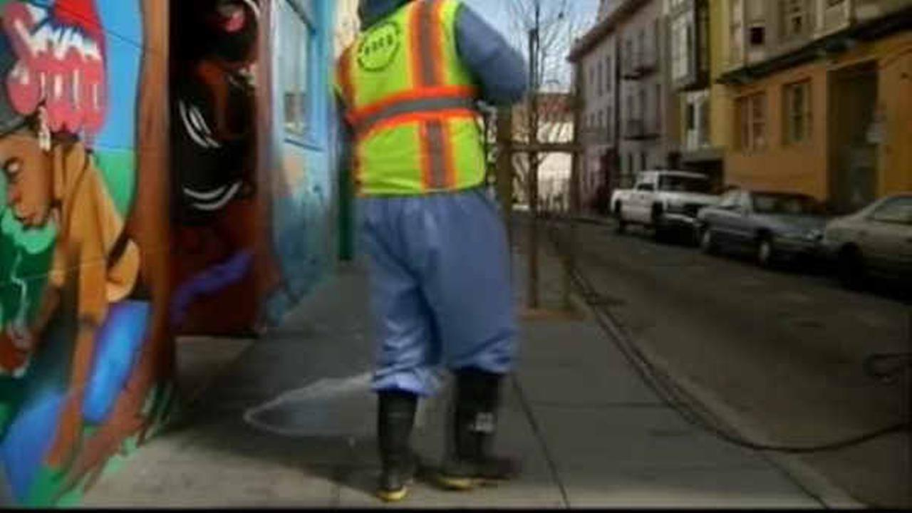 Could it work for New York? San Francisco officials testing urine-repellent paint