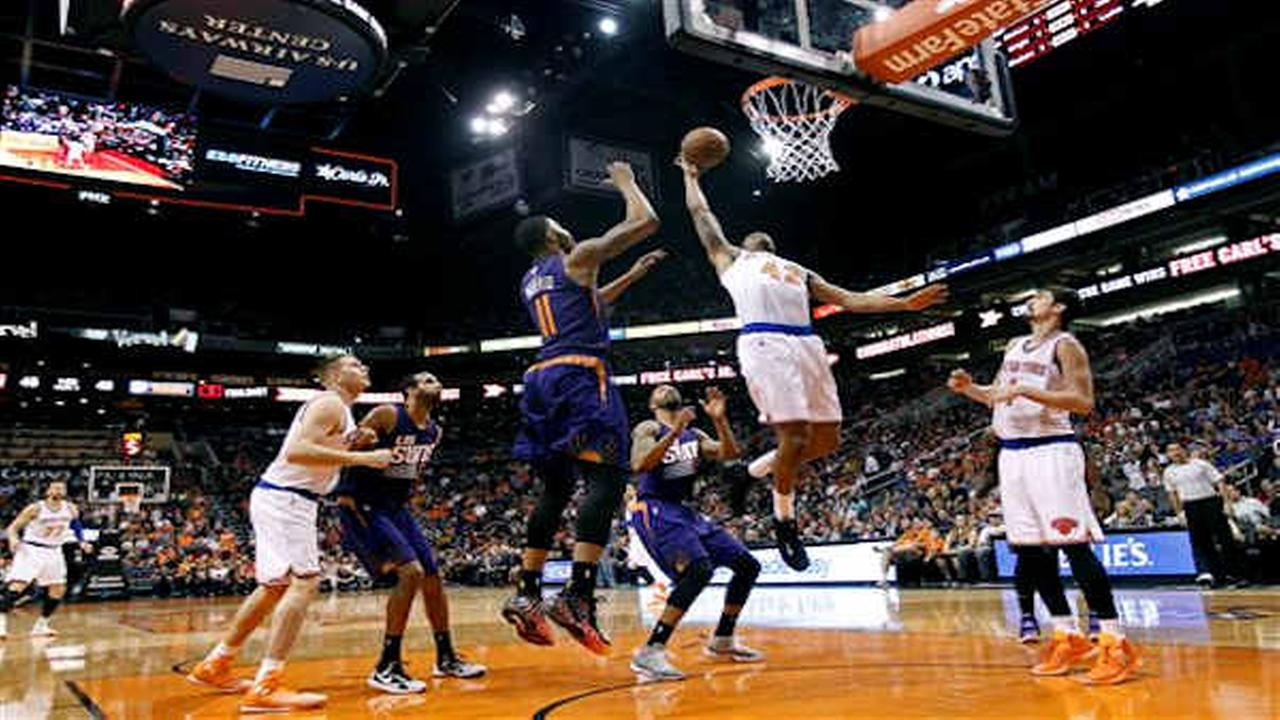 Knicks lose 102-89 to Suns