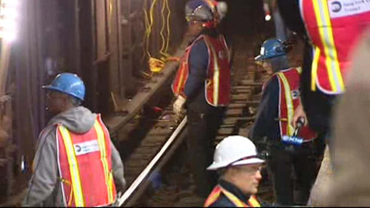 Overnight subway shutdowns in Manhattan and Queens for repair work