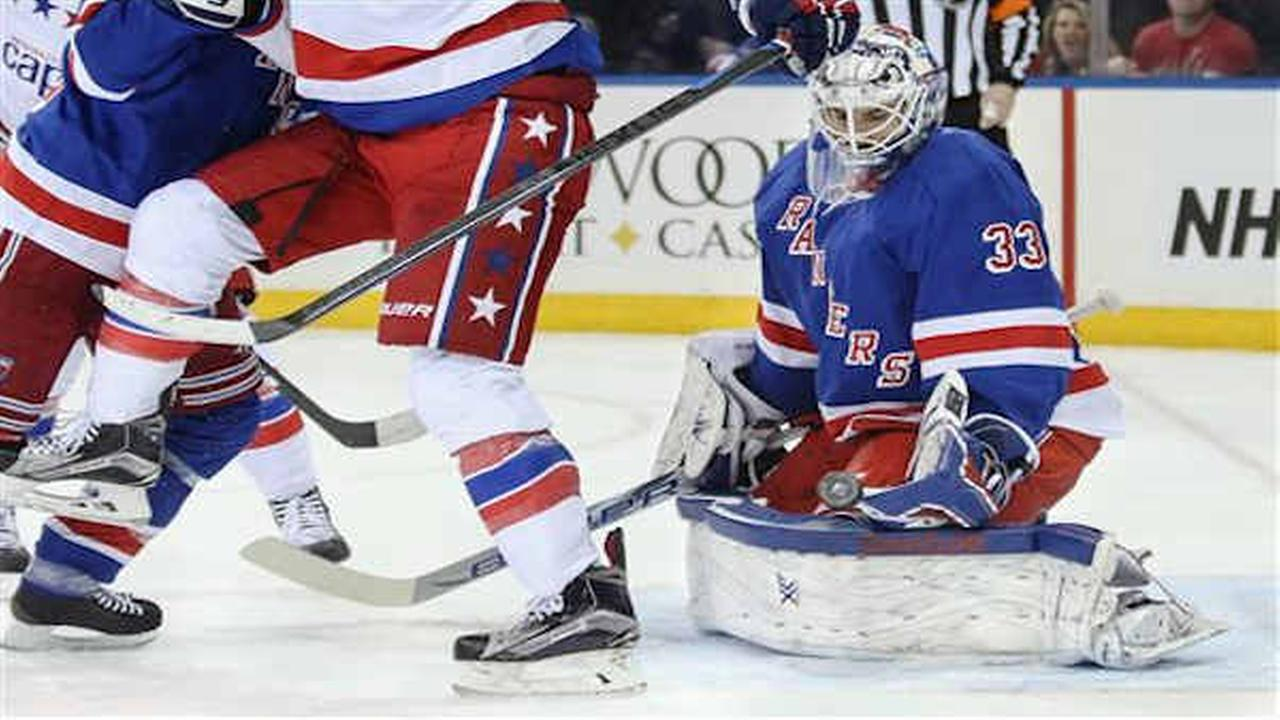 Rangers lose 5-2 to Capitals