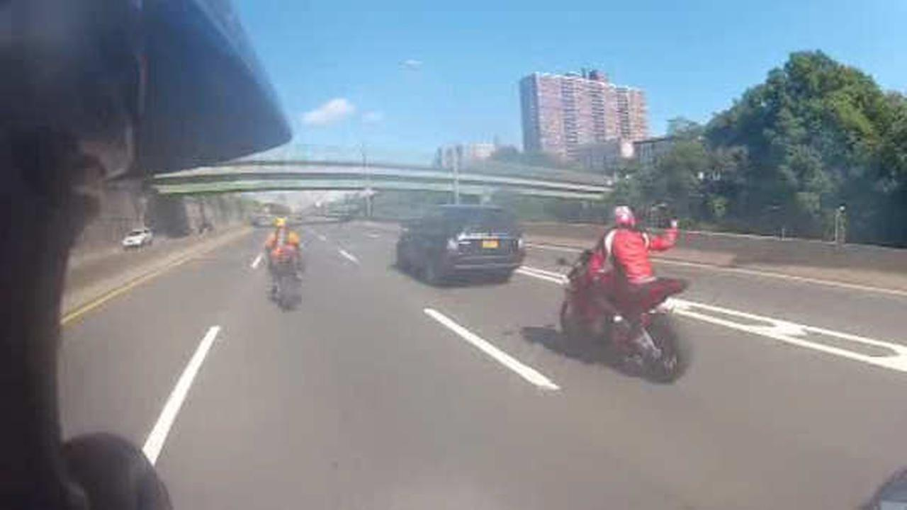 Another motorcyclist pleads guilty in West Side Highway road rage case
