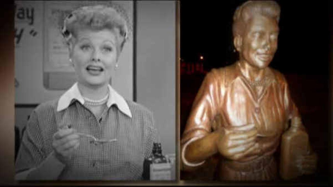 'I Love Lucy' fans say there is nothing funny about Lucille Ball statue