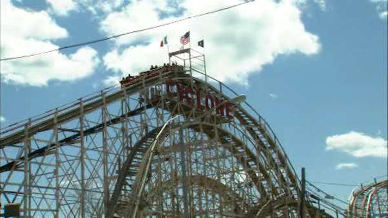 Coney Island Cyclone back on track after rough opening ride