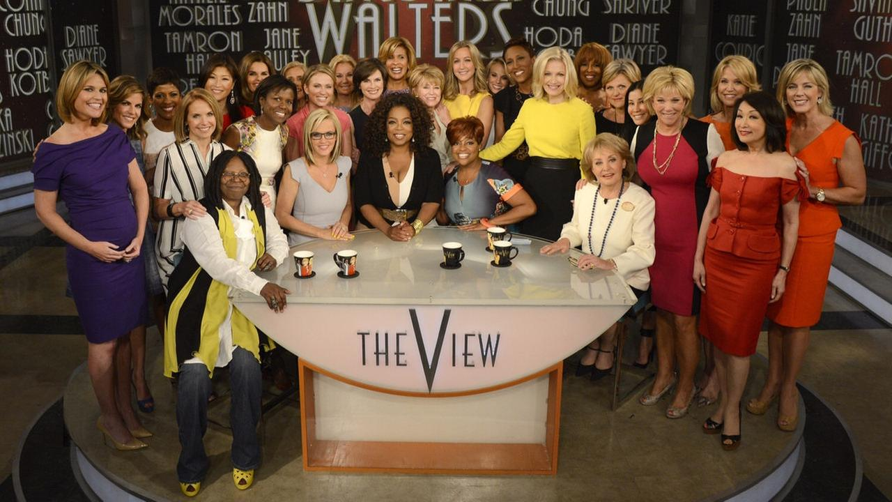 barbara walters the view last day