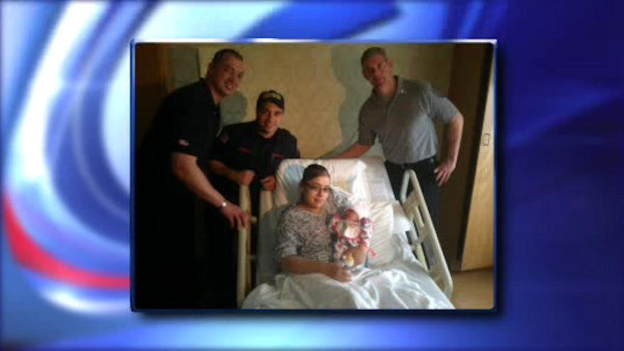 Firefighters deliver, save baby with umbilical cord wrapped around neck