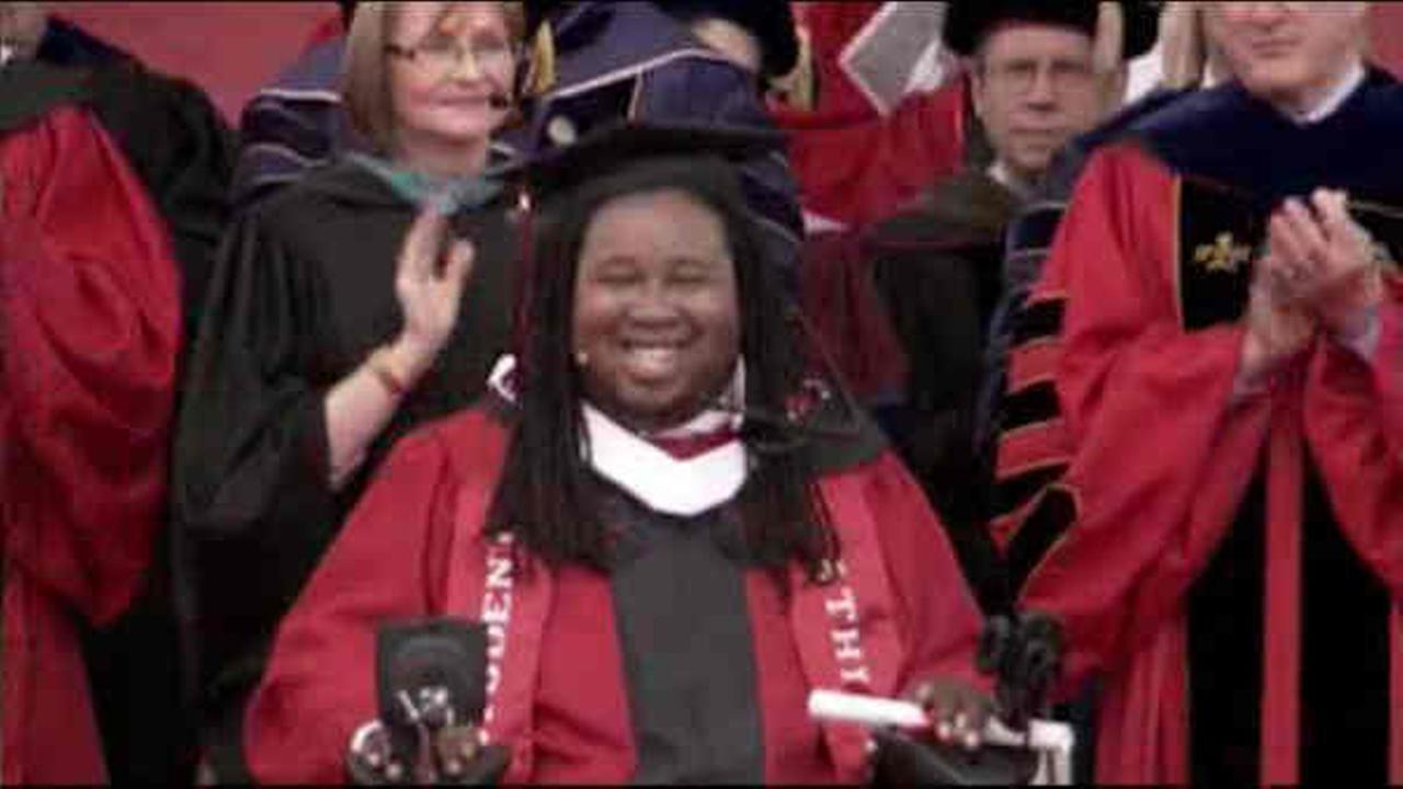 Eric LeGrand speaks at Rutgers commencement, tells graduates that ...