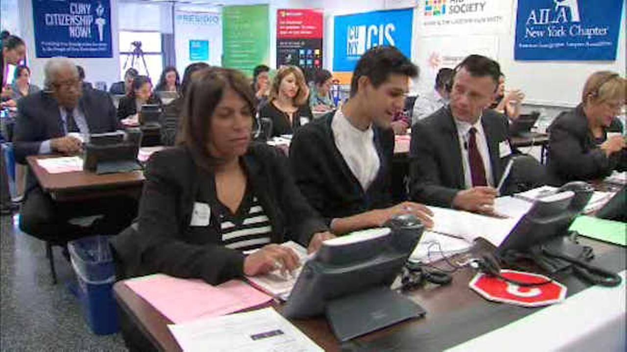 "NYC officials, volunteers take part in annual ""Citizenship Now!"" program"