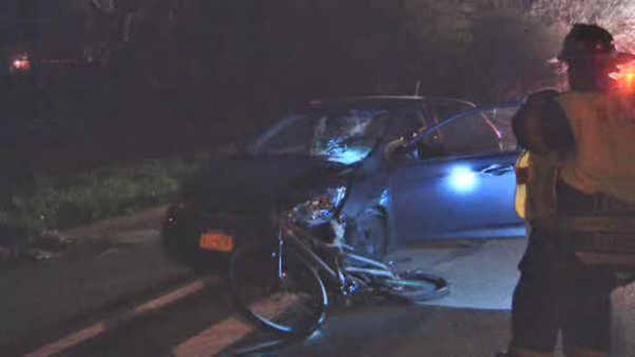 Bicyclist killed after crashing into car in Holtsville, Suffolk County