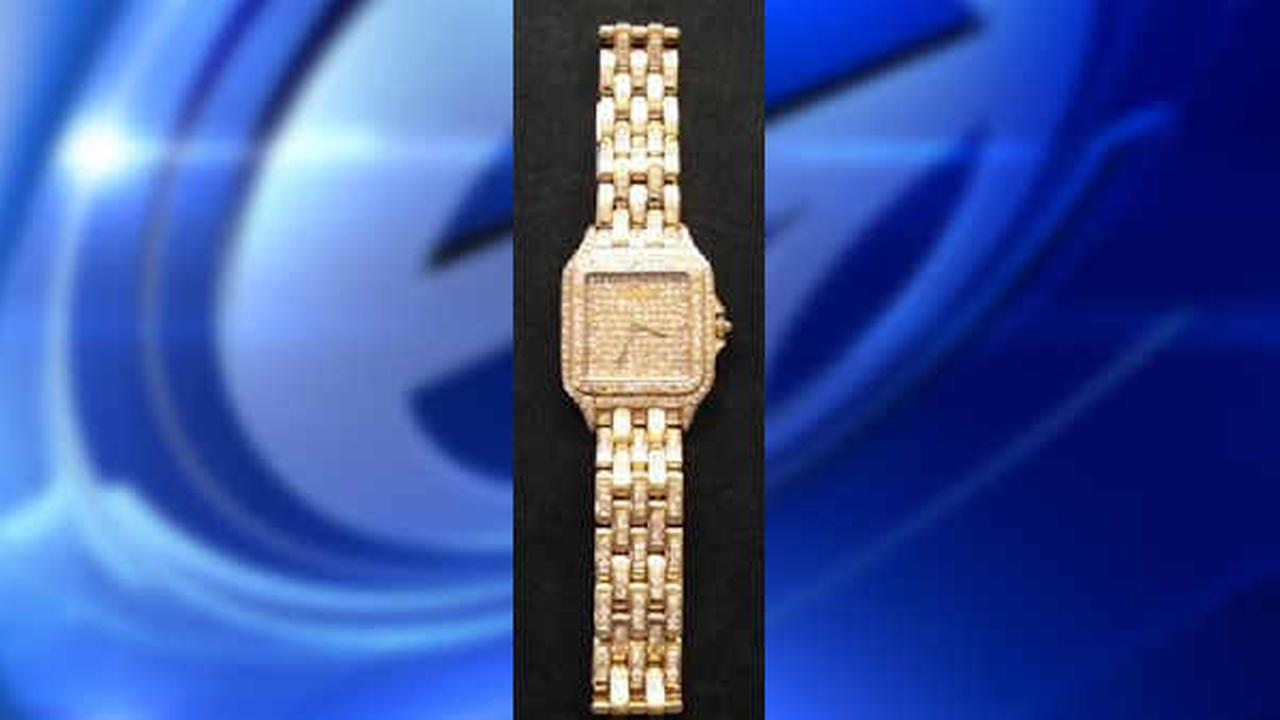 Lost and found: $100,000 watch left behind at Newark Airport security