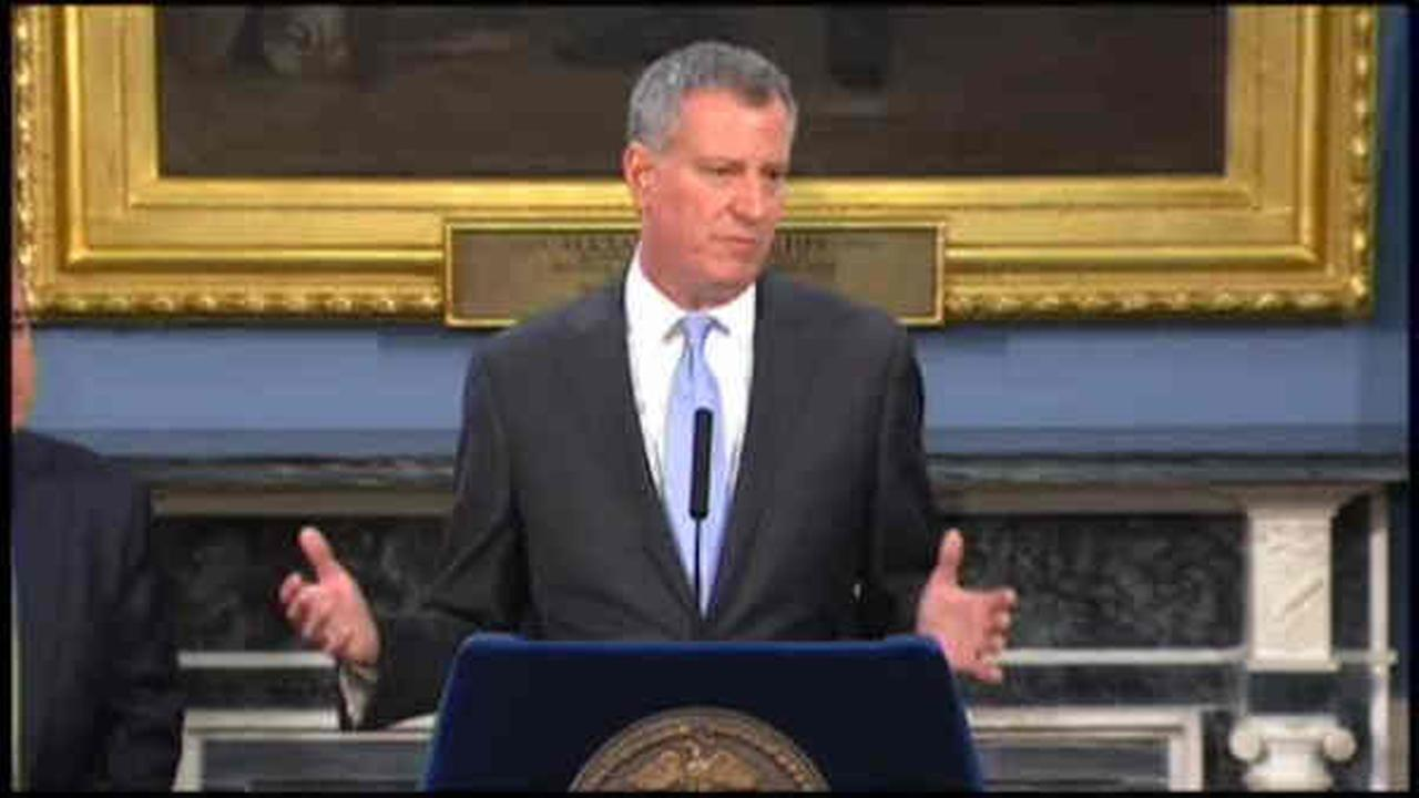 De Blasio says those outside NYC appreciate him more than New Yorkers