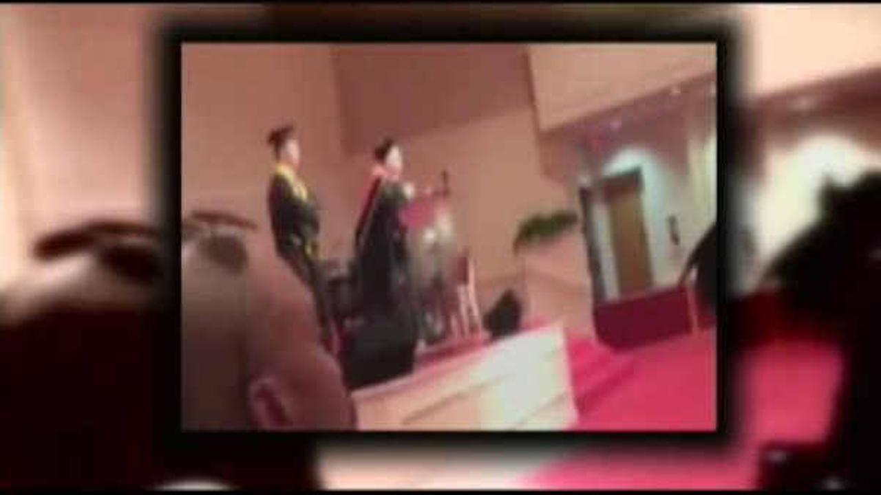 School principal apologizes for racist comment at graduation ceremony